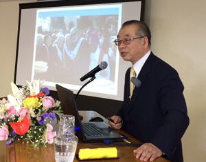 大山田秀生会長の統一思想セミナー