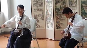 民族楽器『ソヘグム』による演奏