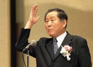 鄭時東平和統一聯合中央会長