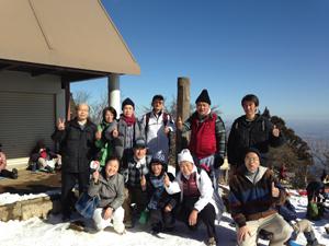 丹沢連峰大山