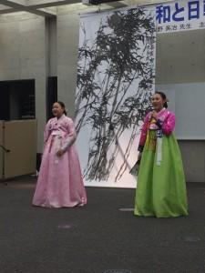 講演会 韓国の歌