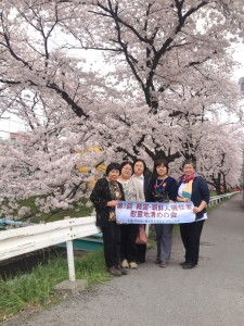 在日韓国・朝鮮人慰霊地清めの会花見