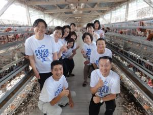 高光養鶏場訪問