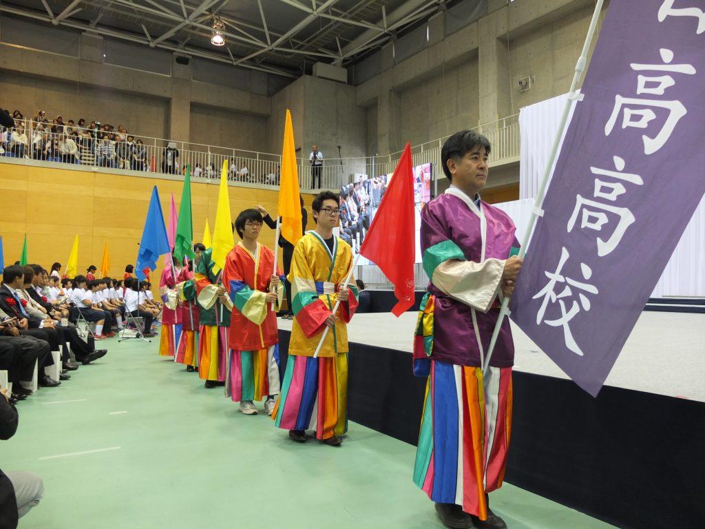 日高高校パレード