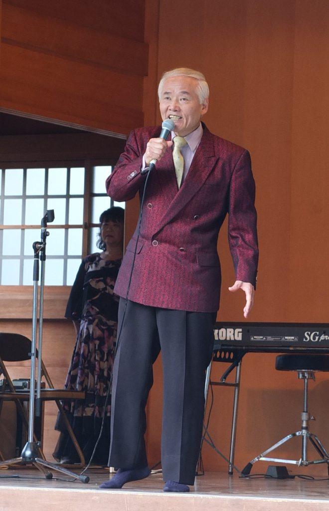 嶋三喜夫さんによる歌