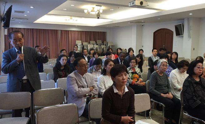 東北アジアの平和と韓半島統一のための特別講演会