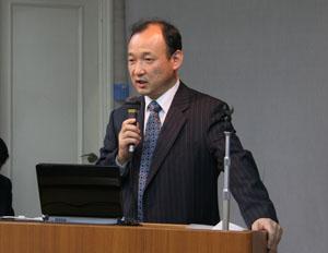 金源植中央本部事務総長による報告