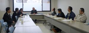 李在洙会長を囲む懇談会