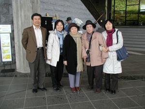 日韓トンネル調査斜坑の見学