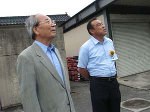 韓会長と実国さん