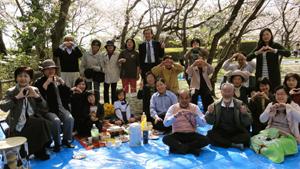 桜の花見会