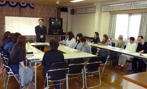 2011年度ハングル教室の開校式