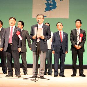 姜熙滿・平和統一聯合近畿連合会副会長兼事務局長