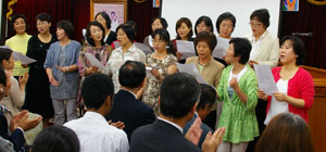 日韓国際家庭の婦人たち