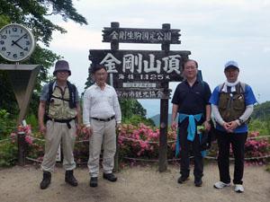 奈良県の金剛山登山