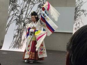 講演会 韓国舞踊