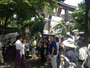 高麗神社・鳥居