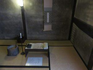 坂本龍馬が使用した隠れ部屋