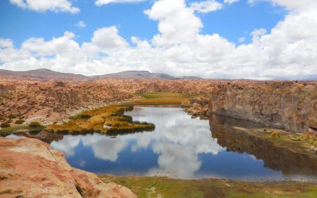 ボリビアのラグーナ・ネグラ